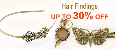 Hair Findings Up To 30% OFF
