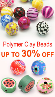 Polymer Clay Beads Up To 30% OFF