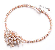 Pearl Beads Beaded Necklace
