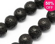 Natural Lava Stone Beads