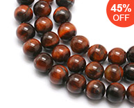 Natural Gemstone Round Beads