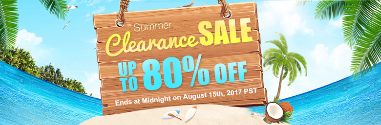 Summer Clearance Sale Up To 80% OFF