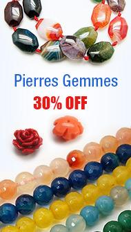 Pierres Gemmes 30% OFF