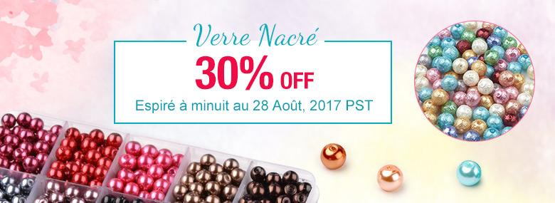 Verre Nacré 30% OFF