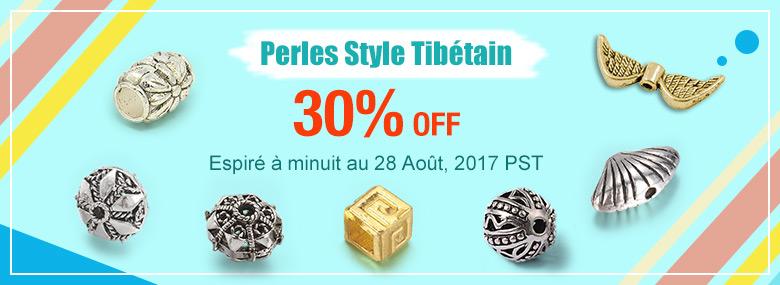 Perles Style Tibétain 30% OFF