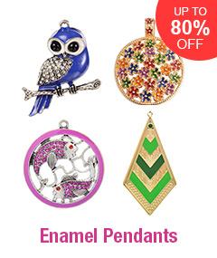 Enamel Pendants Up To 80% OFF