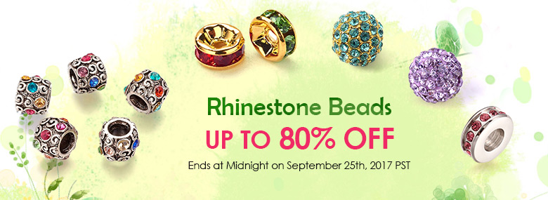 Rhinestone Beads Up To 80% OFF