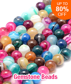 Gemstone Beads Up To 80% OFF