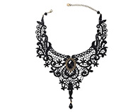 Lace Bib Necklaces