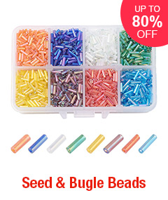 Seed & Bugle Beads Up To 80% OFF