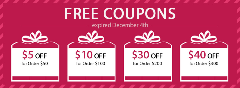 Free Coupons, expired December 4th