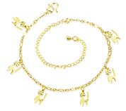 Cat Charm Anklets