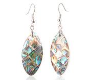 Abalone/Paua Shell Dangle Earrings