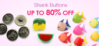 Shank Buttons Up To 80% OFF
