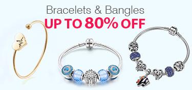 Bracelets & Bangles Up To 80% OFF