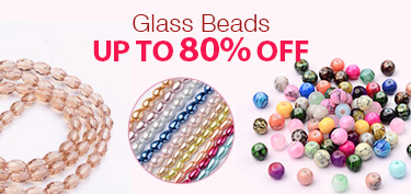 Glass Beads Up To 80% OFF