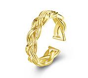 Brass Cuff Rings