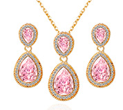 Double Drop Jewelry Sets