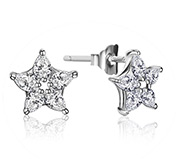 Five-Pointed Star  Earring