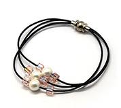 Multi-strand Leather Bracelets