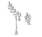 Olive Leaf Stud Earrings