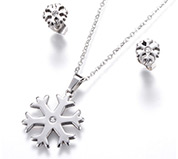 Snowflake Jewelry Sets