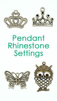 Pendant Rhinestone Settings