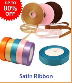 Satin Ribbon Up To 80% OFF