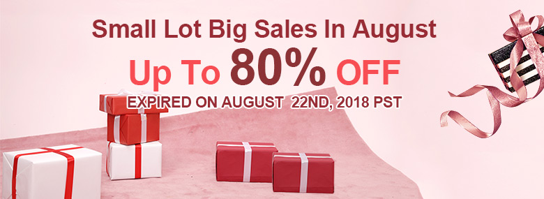 Small lot Big Sales in August