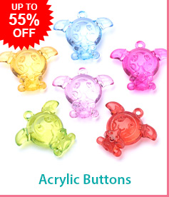 Acrylic ButtonsUp To 55% OFF