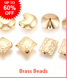 Brass Beads Up To 60% OFF