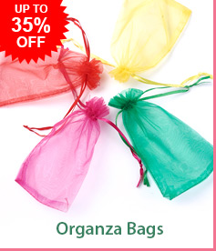 Organza Bags Up To 35% OFF