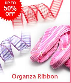 Organza Ribbon Up to 50%OFF