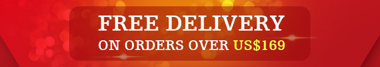 Free Delivery On Orders Over US$169
