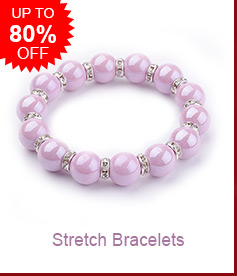 Stretch Bracelets Up to 80% OFF
