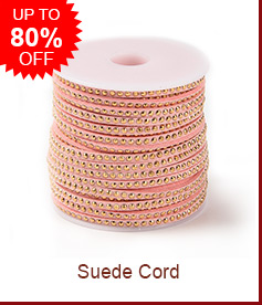 Suede Cord Up to 80% OFF