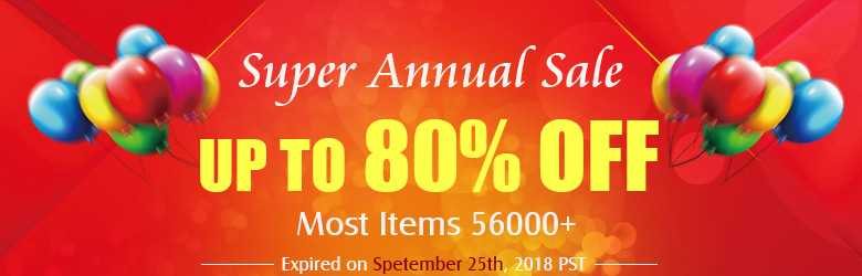 Super Annual Sale Up to 80% OFF