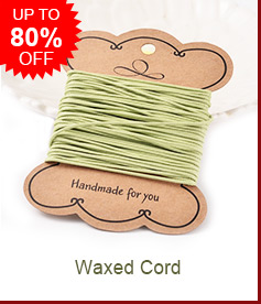 Waxed Cord Up to 80% OFF