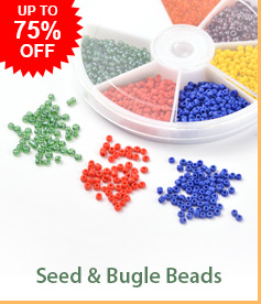 Seed & Bugle Beads Up to 75% OFF