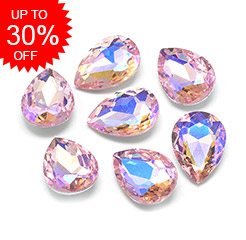 Glass Rhinestone Cabochons Up to 30% OFF