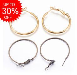 Hoop Earring Findings Up to 30% OFF