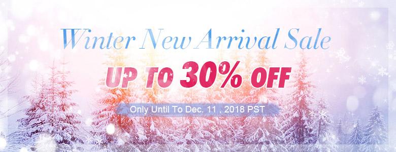 Winter New Arrival Sale