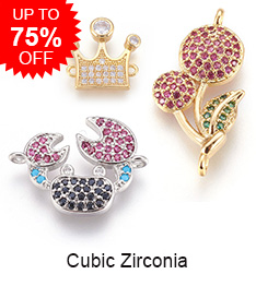 Cubic Zirconia Up to 75% OFF