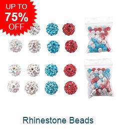 Rhinestone BeadsUp to 75% OFF