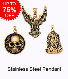 Stainless Steel Pendant Up to 75% OFF