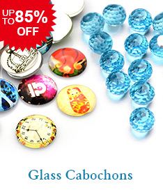 Glass Cabochons Up to 85% OFF