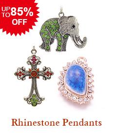 Rhinestone Pendants Up to 85% OFF