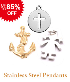 Stainless Steel Pendants Up to 85% OFF