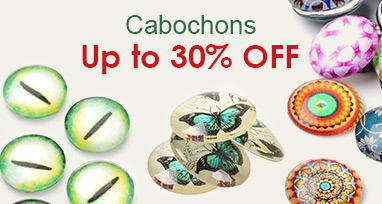 Cabochons Up to 30% OFF