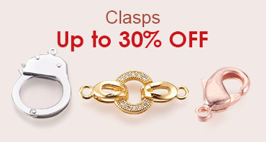 Clasps Up to 30% OFF